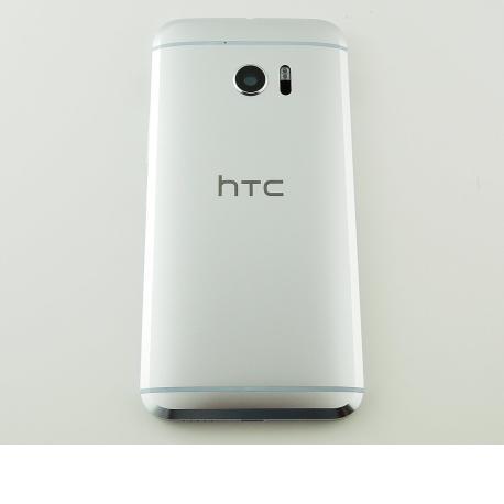 CARCASA TAPA TRASERA DE BATERIA CON LENTE DE CAMARA PARA HTC 10 - NEGRA