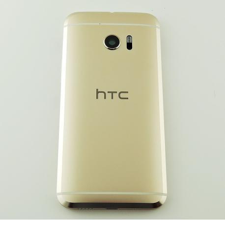CARCASA TAPA TRASERA DE BATERIA CON LENTE DE CAMARA PARA HTC 10 - ORO