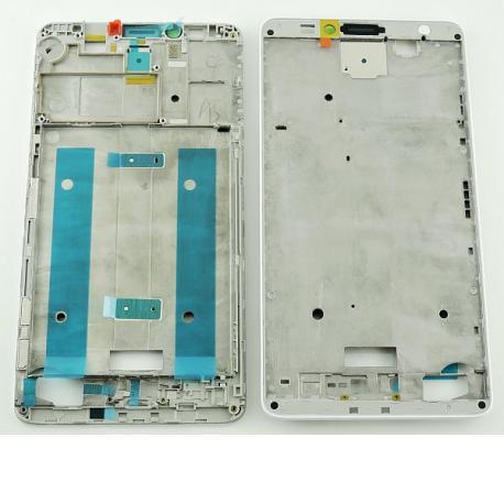 Carcasa Marco Frontal para Huawei Ascend Mate 7 - Blanca
