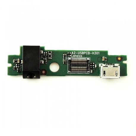 Modulo Jack de Audio y Conector de Carga para Tablet Lenovo A2107