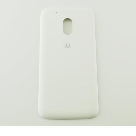 Tapa Trasera de Bateria para Motorola Moto G4 - Blanca