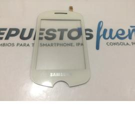 PANTALLA TACTIL ORIGINAL DE SAMSUNG CORBY POP C3510 BLANCA