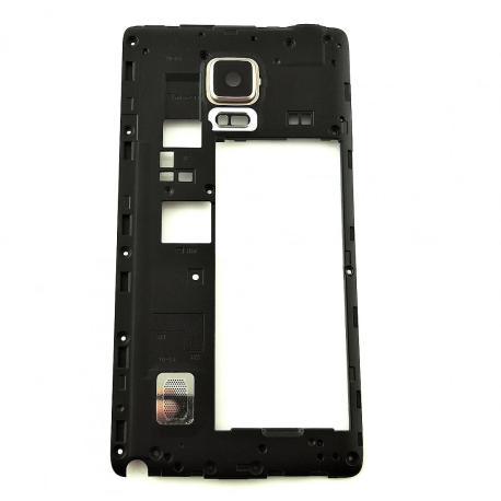 Carcasa Intermedia con Lente para Samsung Galaxy Note 4 Edge N915F N915 - Oro