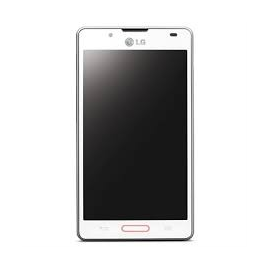 Pantalla completa con marco LG P710 Optimus L7 blanca