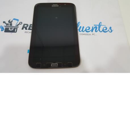 Pantalla LCD Display + Tactil con Marco Original para Samsung Galaxy Note 8.0 3G GT-N5100 - Negra