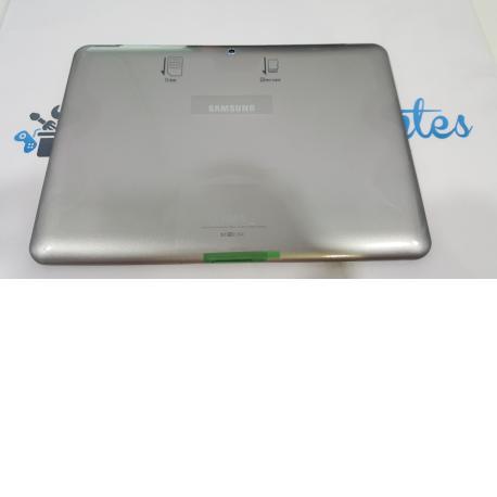 TAPA TRASERA CARCASA BATERIA SAMSUNG GALAXY TAB 2 P5100 P5110 - PLATA