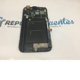 PANTALLA TACTIL + LCD DISPLAY ORIGINAL PARA SAMSUNG NOTE 2 N7100 - AZUL / GH9714112E