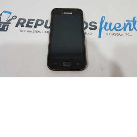 Pantalla LCD Display + Tactil Con Marco Samsung i9003 Galaxy SCL Brown Black
