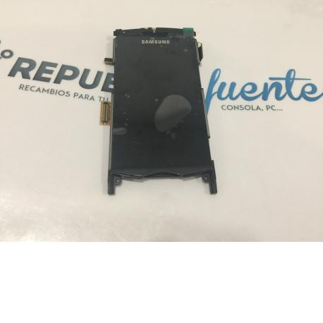 PANTALLA LCD DISPLAY + TACTIL SAMSUNG S8500 WAVE NEGRO