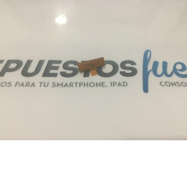 TAPA PROTECTORA DE RANURA MICRO USB ORIGINAL DE SONY XPERIA S LT26I - AMARILLA