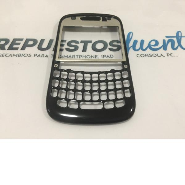 CARCASA FRONTAL ORIGINAL BLACKBERRY 9220 9320 NEGRA