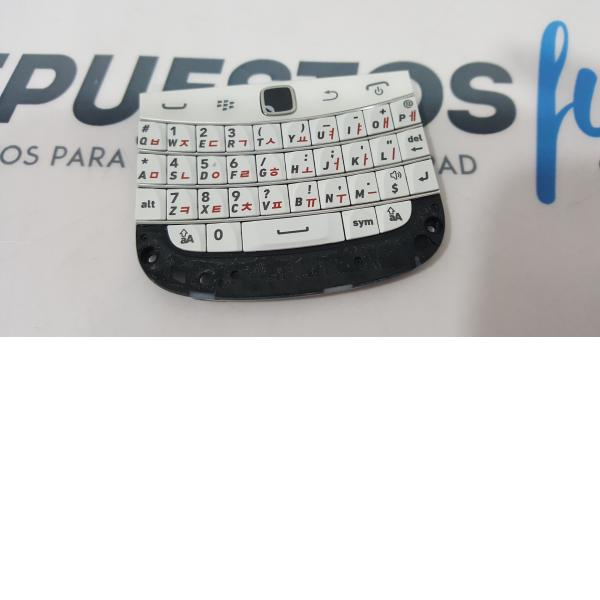 TECLADO ORIGINAL BLACKBERRY BOLD 9900 BLANCA