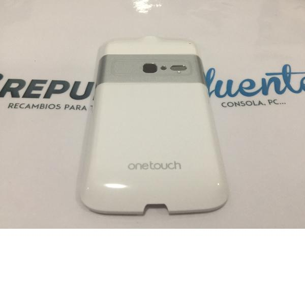 TAPA TRASERA ORIGINAL ALCATEL ONE TOUCH OT-916 BLANCA