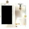 Pantalla lcd + Tactil con marco Frontal Original BQ Aquaris 4.5 Blanco