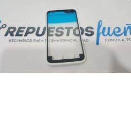 MARCO FRONTAL PARA LG E510 OPTIMUS HUB BLANCO