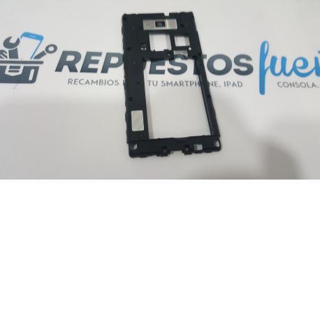 Carcasa Intermedia con lente Original para LG Optimus L7 P700