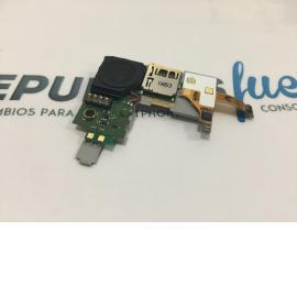 MÓDULO ALTAVOZ BUZZER + CONECTOR MICRO SD ORIGINAL LG KU 990