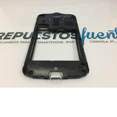 CARCASA INTERMEDIA ORIGINAL ALCATEL ONE TOUCH OT-916 NEGRA