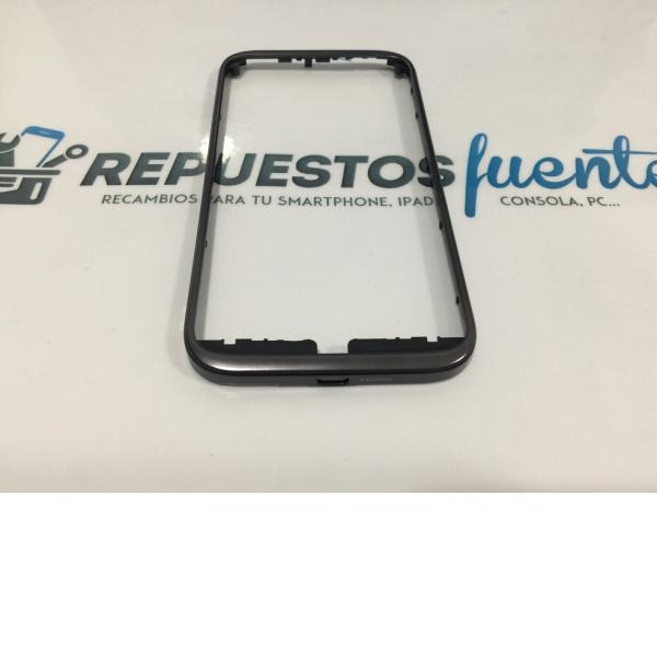 MARCO FRONTAL ORIGINAL ALCATEL OT-995, OT995 NEGRO