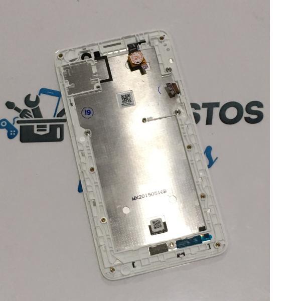 PANTALLA LCD DISPLAY + TACTIL CON MARCO PARA ACER LIQUID Z520 - BLANCA