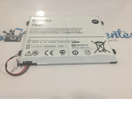 """Batería TB40 Original De Motorola MZ615 XOOM2 10.1"""""""