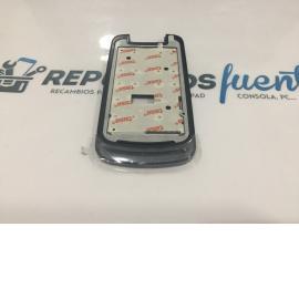 MARCO FRONTAL TAPA DELANTERA GRIS ORIGINAL DE MOTOROLA WX308 GLEAM + NEGRO