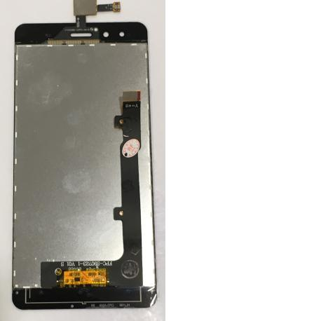 Pantalla LCD Display + Tactil para BQ Aquaris X5 / PN LCD: FPC-S90723-1 V01 S / Remanufacturada - Negra