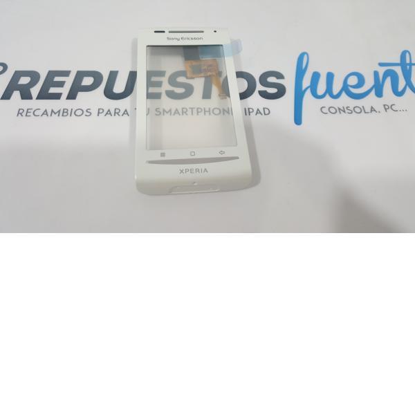 PANTALLA TACTIL CRISTAL + MARCO FRONTAL DIGITALIZADOR XPERIA X8