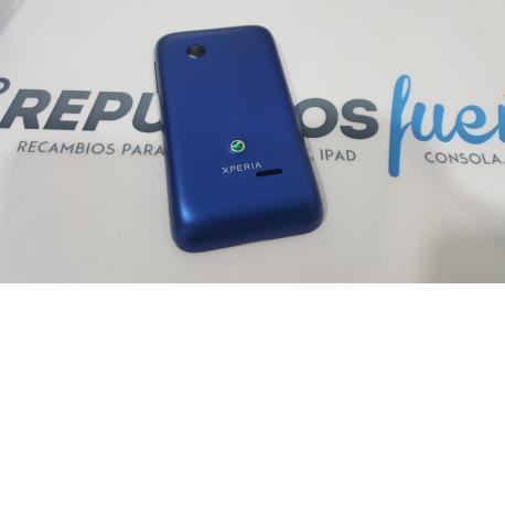 Tapa trasera bateria Original Sony Xperia Tipo st21i Azul