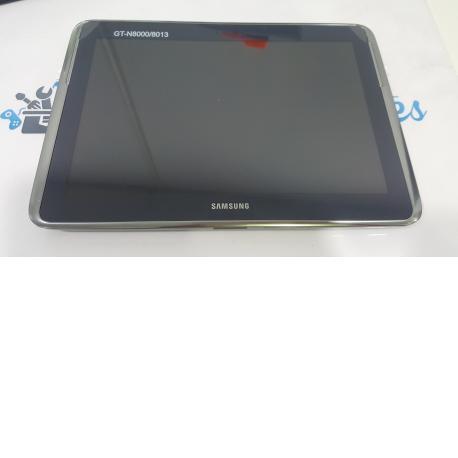 PANTALLA LCD + TACTIL CON MARCO ORIGINAL TABLET SAMSUNG GALAXY NOTE 10.1 N8000
