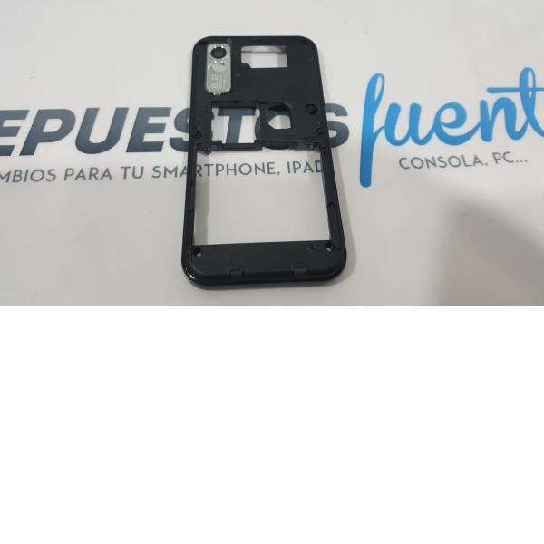 CARCASA INTERMEDIA ORIGINAL NEGRA DE SAMSUNG S5230