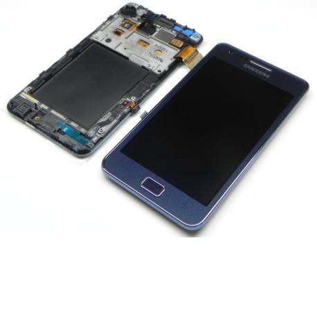 Pantalla LCD Más Táctil Con Marco Original De Samsung Galaxy S2 plus i9105p