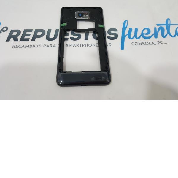 CARCASA INTERMEDIA ORIGINAL DE SAMSUNG GALAXY S2 PLUS I9105P