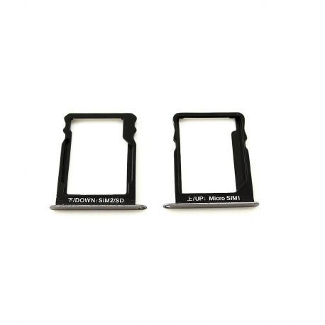 Set de Bandeja para tarjeta SIM y SD / SIM para Huawei GR3 / Huawei Enjoy 5s - Negra