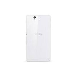 Tapa trasera Carcasa Sony Xperia Z L36H C6602 Blanca de desmontaje