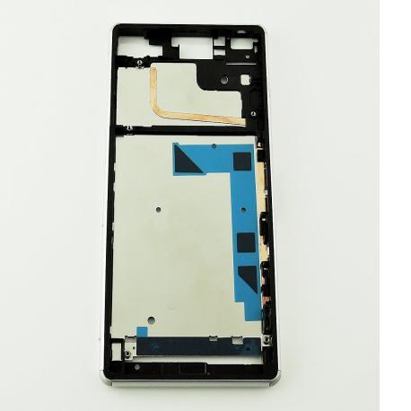 Marco Frontal del LCD para Sony Xperia Z3 D6603 - Blanca