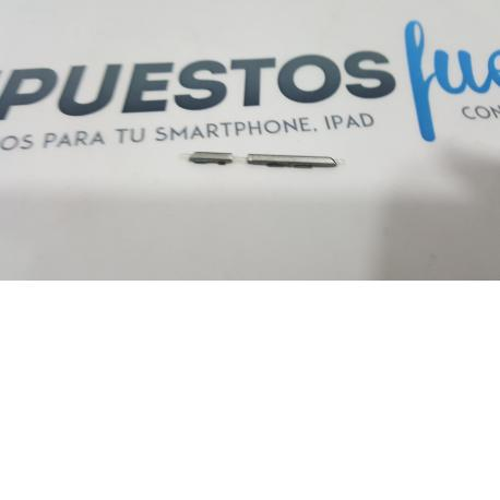 Botones Volumen + Encendido De Tapa para Vodafone Smart ultra 6 VF995 Gris Oscuro - Recuperado