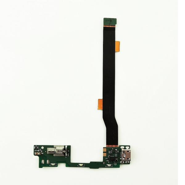 FLEX CONECTOR DE CARGA MICRO USB, MICROFONO Y VIBRADOR PARA ALCATEL IDOL ALPHA 6032
