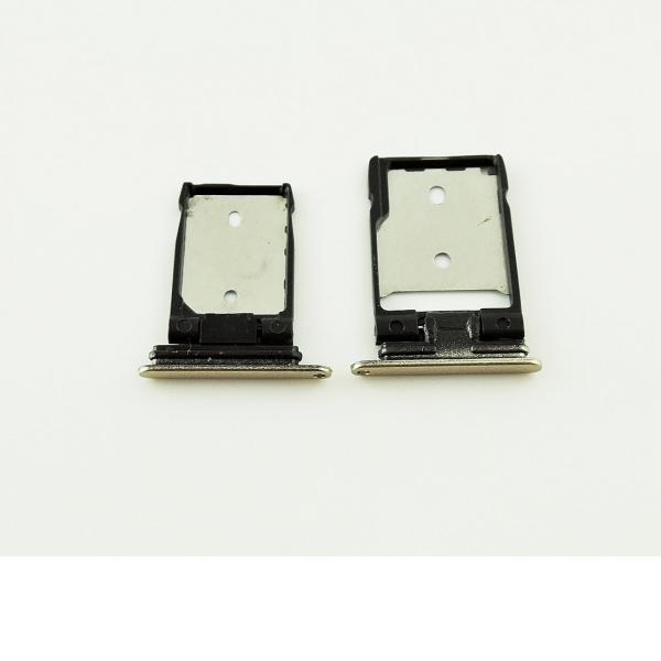 SET DE BANDEJA SIM Y SD PARA HTC A9 - ORO
