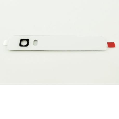 Embellecedor Superior-Trasero con Lente de Camara para Huawei P8 Lite - Blanco