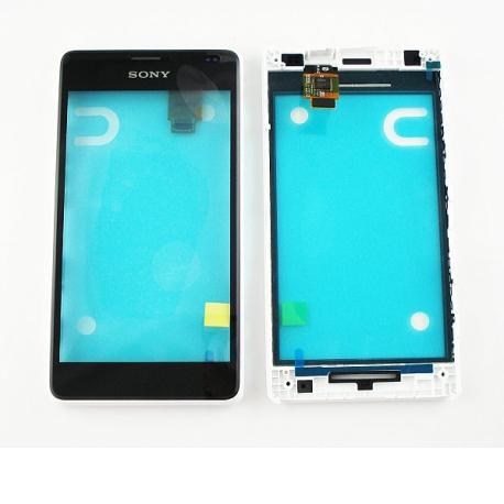 Pantalla Tactil con Marco Original para Sony Xperia E1 - Blanca