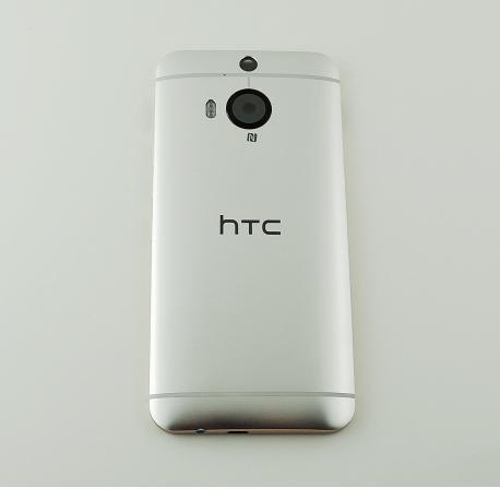 CARCASA TAPA TRASERA DE BATERIA CON LENTE PARA HTC ONE M9+ PLUS - PLATA
