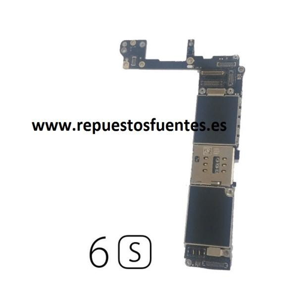 PLACA BASE LOGIC BOARD MOTHERBOARD IPHONE 6 LIBRE 16GB (CON BOTON HOME BLANCO ) - RECUPERADA