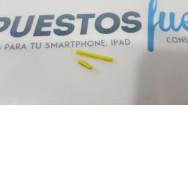 BOTONES VOLUMEN + ENCENDIDO ORIGINAL WIKO RAINBOW S5500 AMARILLO - RECUPERADO