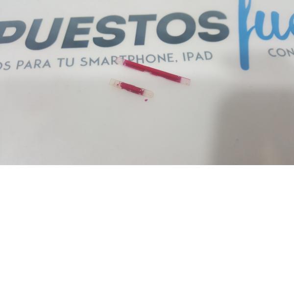 BOTONES VOLUMEN + ENCENDIDO ORIGINAL WIKO RAINBOW S5500 ROJO - RECUPERADO