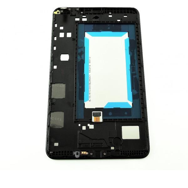 PANTALLA LCD DISPLAY + TACTIL CON MARCO ORIGINAL PARA SAMSUNG GALAXY TAB 4 8.0 4G T335 - NEGRA