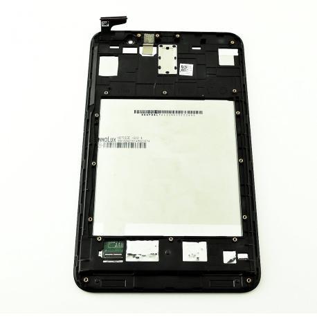 PANTALLA LCD DISPLAY + TACTIL CON MARCO PARA ASUS MEMO PAD 7 ME176CX  - NEGRA