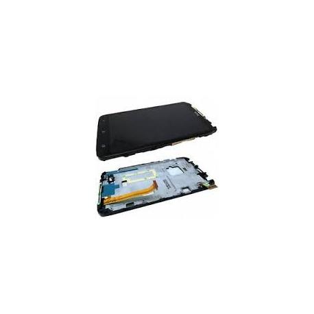 Pantalla completa con marco Original HTC One S Ville Z560e Negra