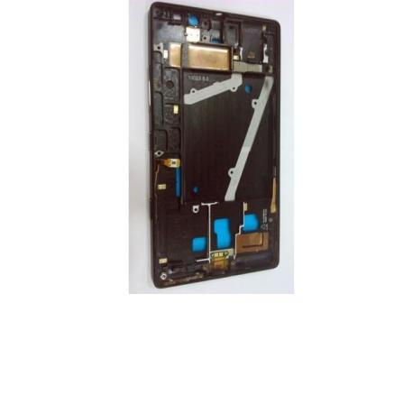 CARCASA FRONTAL DE LCD PARA NOKIA LUMIA 930 - NEGRA