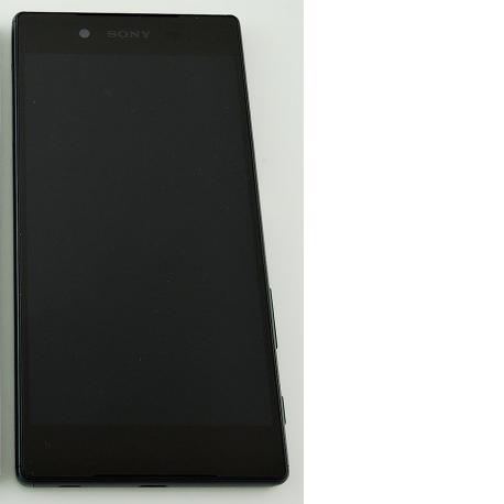 PANTALLA LCD DISPLAY + TACTIL CON MARCO ORIGINAL PARA SONY XPERIA Z5 E6603, E6653 VERDE - RECUPERADA